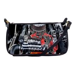 Car Engine Shoulder Clutch Bags by Nexatart
