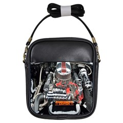 Car Engine Girls Sling Bags