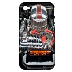 Car Engine Apple Iphone 4/4s Hardshell Case (pc+silicone)