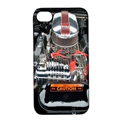 Car Engine Apple Iphone 4/4s Hardshell Case With Stand