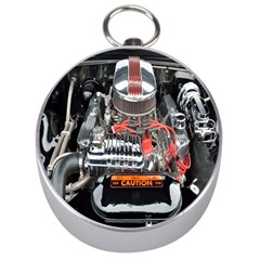 Car Engine Silver Compasses by Nexatart