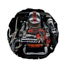 Car Engine Standard 15  Premium Flano Round Cushions by Nexatart