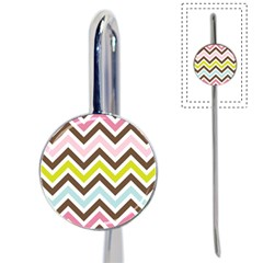 Chevrons Stripes Colors Background Book Mark
