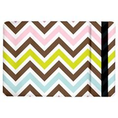 Chevrons Stripes Colors Background Ipad Air 2 Flip