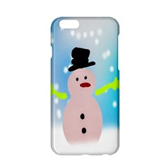 Christmas Snowman Apple Iphone 6/6s Hardshell Case