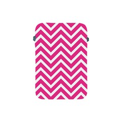 Chevrons Stripes Pink Background Apple Ipad Mini Protective Soft Cases
