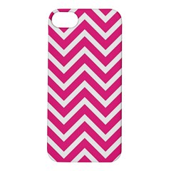 Chevrons Stripes Pink Background Apple Iphone 5s/ Se Hardshell Case