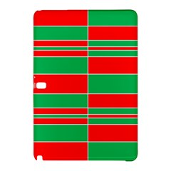Christmas Colors Red Green Samsung Galaxy Tab Pro 10 1 Hardshell Case