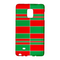 Christmas Colors Red Green Galaxy Note Edge by Nexatart