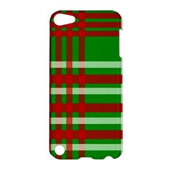 Christmas Colors Red Green White Apple Ipod Touch 5 Hardshell Case
