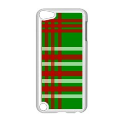 Christmas Colors Red Green White Apple Ipod Touch 5 Case (white)