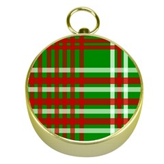 Christmas Colors Red Green White Gold Compasses