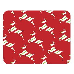 Christmas Card Christmas Card Double Sided Flano Blanket (large)