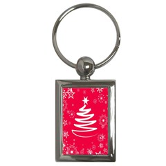 Christmas Tree Key Chains (rectangle)  by Nexatart
