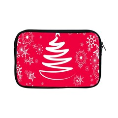 Christmas Tree Apple Ipad Mini Zipper Cases by Nexatart