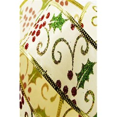 Christmas Ribbon Background 5 5  X 8 5  Notebooks