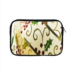 Christmas Ribbon Background Apple Macbook Pro 15  Zipper Case by Nexatart