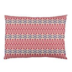 Christmas Pattern Vintage Pillow Case