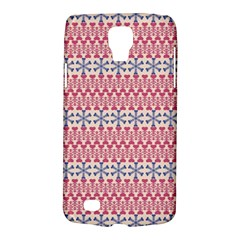 Christmas Pattern Vintage Galaxy S4 Active