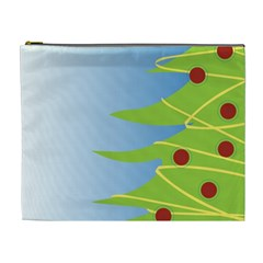 Christmas Tree Christmas Cosmetic Bag (XL)