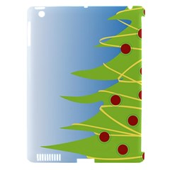 Christmas Tree Christmas Apple Ipad 3/4 Hardshell Case (compatible With Smart Cover) by Nexatart