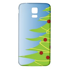 Christmas Tree Christmas Samsung Galaxy S5 Back Case (white)