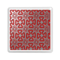 Christmas Wrap Pattern Memory Card Reader (square)