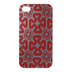 Christmas Wrap Pattern Apple Iphone 4/4s Premium Hardshell Case