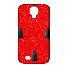 Christmas Time Fir Trees Samsung Galaxy S4 Classic Hardshell Case (pc+silicone)