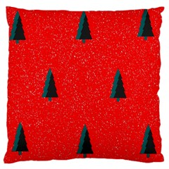 Christmas Time Fir Trees Standard Flano Cushion Case (one Side) by Nexatart