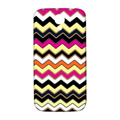 Colorful Chevron Pattern Stripes Samsung Galaxy S4 I9500/i9505  Hardshell Back Case