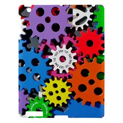 Colorful Toothed Wheels Apple Ipad 3/4 Hardshell Case