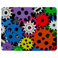 Colorful Toothed Wheels Jigsaw Puzzle Photo Stand (rectangular) by Nexatart