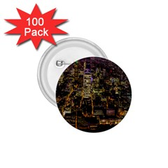 City Glass Architecture Windows 1 75  Buttons (100 Pack)
