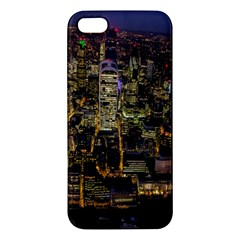 City Glass Architecture Windows Apple Iphone 5 Premium Hardshell Case