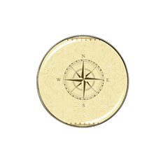 Compass Vintage South West East Hat Clip Ball Marker by Nexatart