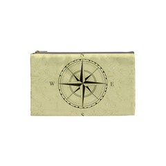 Compass Vintage South West East Cosmetic Bag (small)