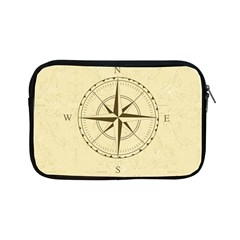 Compass Vintage South West East Apple Ipad Mini Zipper Cases by Nexatart