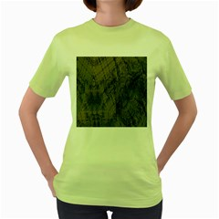 Complexity Women s Green T Shirt by Nexatart