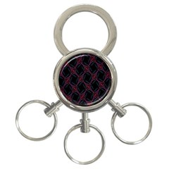 Computer Graphics Webmaster Novelty 3 Ring Key Chains