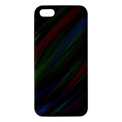 Dark Background Pattern Apple Iphone 5 Premium Hardshell Case