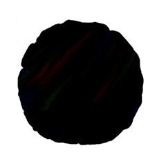 Dark Background Pattern Standard 15  Premium Flano Round Cushions by Nexatart