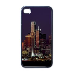 Dallas Texas Skyline Dusk Apple Iphone 4 Case (black)