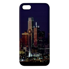 Dallas Texas Skyline Dusk Iphone 5s/ Se Premium Hardshell Case