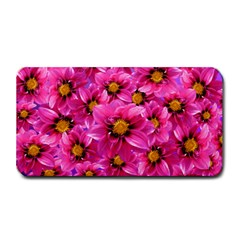 Dahlia Flowers Pink Garden Plant Medium Bar Mats by Nexatart