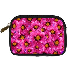 Dahlia Flowers Pink Garden Plant Digital Camera Cases by Nexatart