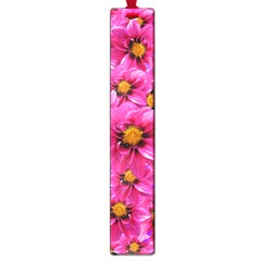 Dahlia Flowers Pink Garden Plant Large Book Marks