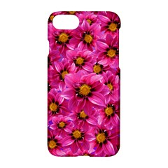 Dahlia Flowers Pink Garden Plant Apple Iphone 7 Hardshell Case by Nexatart