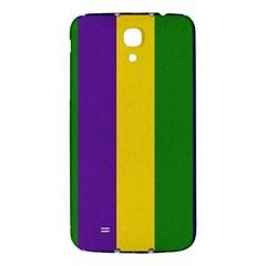 Mardi Gras Striped Pattern Samsung Galaxy Mega I9200 Hardshell Back Case by dflcprints