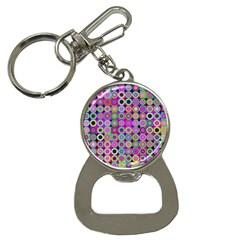 Design Circles Circular Background Button Necklaces by Nexatart
